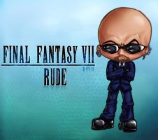 Rude Chibi by damphyr
