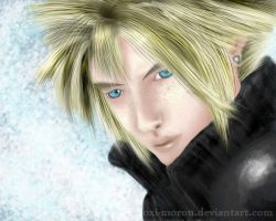 Cloud Strife by oxi-moron