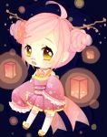 Lantern girl by Marchberry