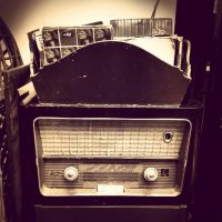 Vintage Radio by pressurechief