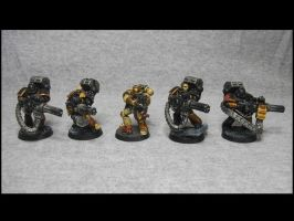 Modified Heavy Bolter Devastator Squad by TheWayOfTempest