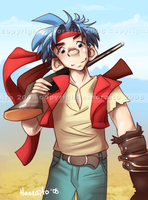 Rudy Roughnight - Wild Arms 1 by hinoraito