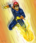 FALCON KICK by Red-Flare