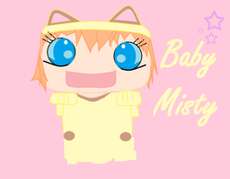 baby nisty cosplayin meowth by leoncilo99