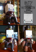 Hatty Hattington Sculpt by duh-veed