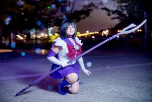 Sailor Saturn cosplay by cloeth