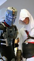 Isaac and Altair #2 by geekypandaphotobox