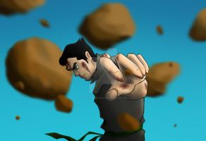 Earthbending Bolin! by hamstermermaid