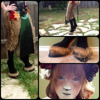 Faun progress by PorrimPyrope