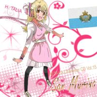 Hetalia - San Marino CD Cover by SumatraDjVero