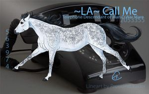 -LA- Call Me: Contest Entry by Sabine-E