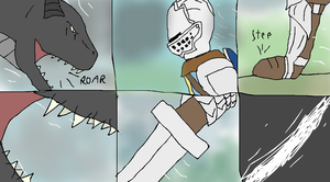Dark Souls comic, A special soul Page 5 by TheSpiderAdventurer