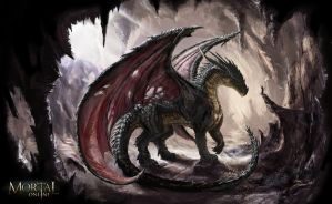 Black Dragon by LordHannu