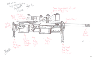 Lupine Weapons Systems - Lycan ERS - Right View by Retal19