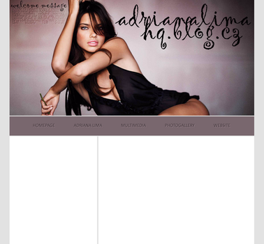 Ordered Layout ft. Adriana Lima by Kate-Mikaelson