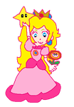 Princess Peach from Toad Harbor in Mario Kart 8 by PinkPrincessPeachy
