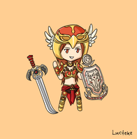 Valkyrie Leona by Luctekz