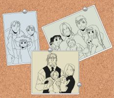 -W.I.P.- Fullmetal Family by Darious07