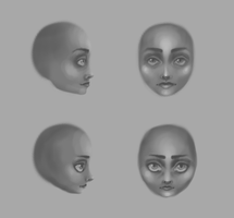 Face Iterations by leanne-xo