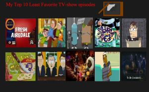 K-Dog0202's top 10 Worst TV Episodes Ever part 2 by K-dog0202