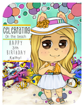 Kathy: 3th Birthday! by ASlovesLisa