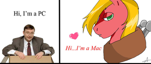PC vs Mac by Bally-Vhern