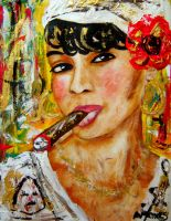 The Habanos Lady. by amoxes