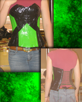 Duct Tape Corset, Paige by Rogue-00