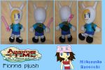 :AT: Fionna Plush by MiharutheKunoichi