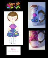 Sugar Pills- Fiona Doll by spicysteweddemon