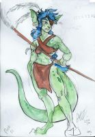 Goblin Sketches - 23 year old Flock by TheMushman