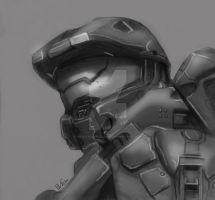 Master Chief Quickie by Beauty-Darkly