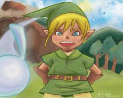Link and Navi by Helsic