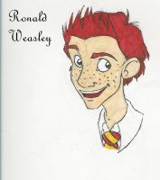 Ronald Weasley by Laitoste