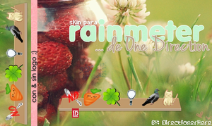 Skin for rainmeter One Direction by DirectionerHere