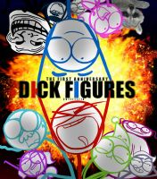 first anniversary of Dick Figures by kogerou