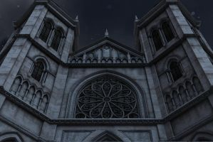 Gothic castle 3 by indigodeep