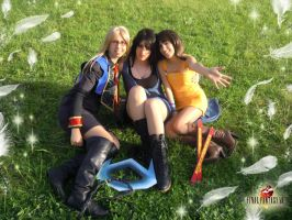 Girls from Final Fantasy VIII by crazyselphie