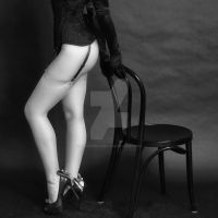 Legs and chair by vincepontarelli