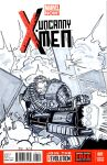 Uncanny X-Men Sketch cover by TheYuanTwins
