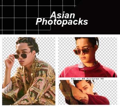 Pack Png 089 // Kai (EXO) (THE WAR). by xAsianPhotopacks