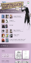 Commission info eng  PayPal or Point by Reno-Viol