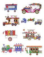 """The circus on wheels"" by alex-safonov"