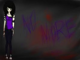 CreepyPasta OC: Evangeline by SomeRandomDudeGirl