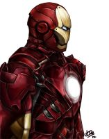 Iron Man Piece 2 by Esthiell