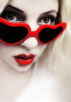 Lolita - Heart Shaped Glasses by sayra