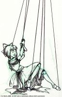 little marionette - inks by celaeno-podarge