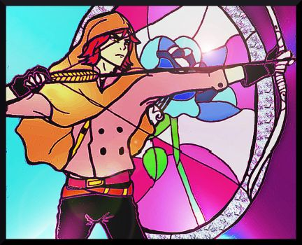 Stained Glass Justice by One-Wicked-Symphony
