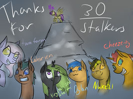 30 Watchers!!! by Netoey