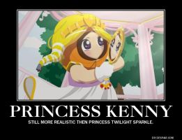 Princess Kenny demotivational poster by DisneyMaster